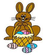 Easter Bunny09-Digital Download-ClipArt-ArtClip... - $3.00
