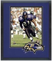 Earnest Byner Baltimore Ravens Circa 1996- 11 x 14 Team Logo Matted/Fram... - $43.55