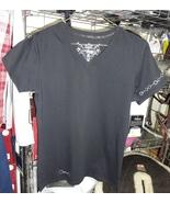 Irideon Short Sleeved tee-shirt, Black with snaffle bit graphics - $8.00