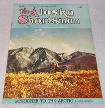 Vintage The Alaska Sportsman Magazine June 1944 Fishing Hunting Arctic - $11.95