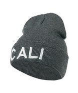 Wording of Cali Embroidered Beanie W45S70D - £12.16 GBP