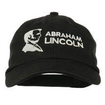 Abraham Lincoln Embroidered Washed Cap W42S56A - $20.99