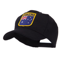 Asia Australia and Other Flag Shield Patch Cap W42S55F - $15.99