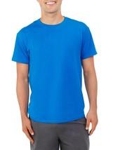 Fruit Of The Loom Men's Platinum Short Sleeve Crew Neck T Shirt MEDIUM Blue - $9.00