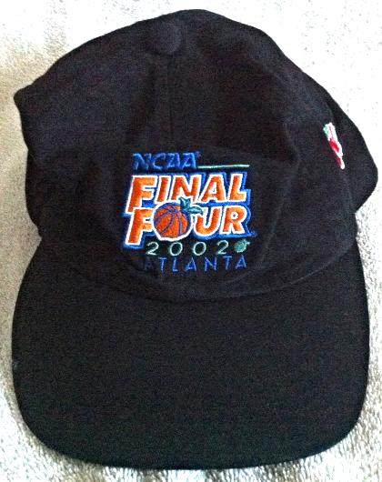 official photos 19a0e 40de1 NCAA 2002 Final Four Atlanta Cap NEW