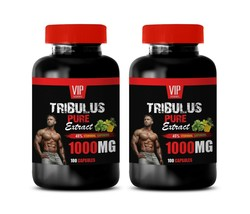 testosterone for men TRIBULUS PURE EXTRACT libido herbs 200 CAPS - $33.65