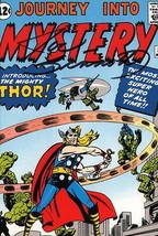 Vintage Art of Marvel SIGNED Post Card Joe Sinnott Journey into Mystery ... - $34.64