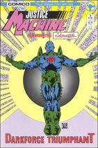 Comico JUSTICE MACHINE FEATURING THE ELEMENTALS #3 VF/NM - $0.89