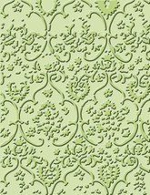 Provo Craft Cuttlebug Embossing Folder Textile #37-1153