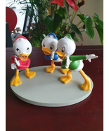 Extremely Rare! Walt Disney Donald Duck The Nephews Planning Figurine St... - $198.00