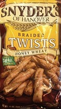 Snyder's BRAIDED TWISTS Honey Wheat 12oz. (Pack of 2) - $20.14