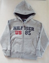 Tommy Hilfiger Boy's Fleece Hoodie Sweatshirt Jacket size 5 New - $22.76