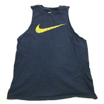 Nike Cut Off Tank Top Gym Shirt Youth Size Extra Large Script Graphic Sl... - $14.03