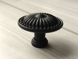 Dresser Knobs Matt Black / Drawer Pulls Knobs Handles Cabinet Door Knobs... - $3.00