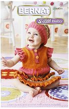 Spinrite Bernat Knitting and Crochet Patterns, It's A Girl-Softee Baby - $24.95