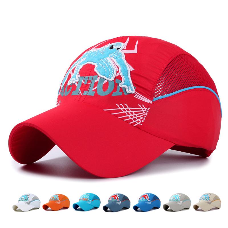 708ce4775a9e6 7 soft material cartoon kids cap children baseball cap boys girls summer hat  quick drying baby