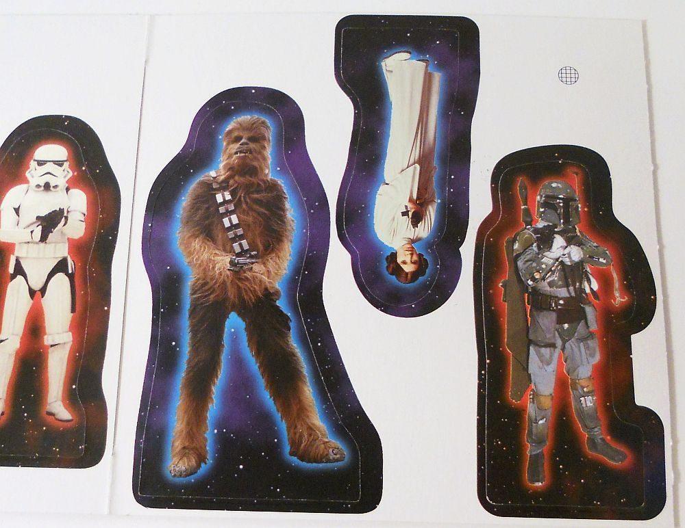 Star Wars Escape the Death Star Game exclusive action figures 2000