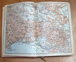 ITALIA Meridionale Southern Italy 1928 Travel Guide Maps Book 1st Edition HC image 5