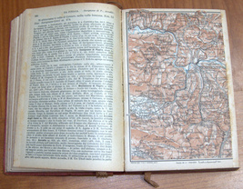 ITALIA Meridionale Southern Italy 1928 Travel Guide Maps Book 1st Edition HC image 6