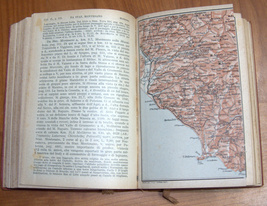 ITALIA Meridionale Southern Italy 1928 Travel Guide Maps Book 1st Edition HC image 7