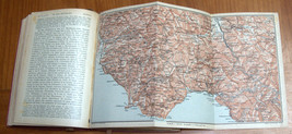 ITALIA Meridionale Southern Italy 1928 Travel Guide Maps Book 1st Edition HC image 8
