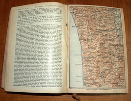 ITALIA Meridionale Southern Italy 1928 Travel Guide Maps Book 1st Edition HC image 9