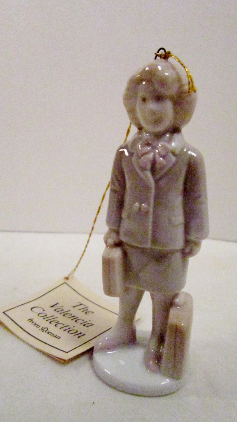 Valencia collection by roman inc 1985 woman figurine 01