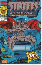 Marvel Stryfes Strike File #1 X-Cutioner Song Addendum Action Adventure - $1.95