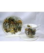 Royal Albert English Village Cup And Saucer Set - $18.89
