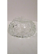 Jeannette Glass Apple Candy Dish Lid Only, Cube... - $3.99
