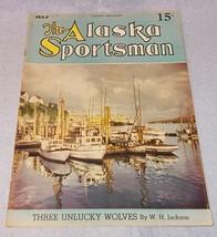 Vintage The Alaska Sportsman Magazine July 1942 Remington Arctic - $11.95
