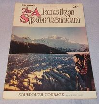The  Alaska Sportsman Magazine December 1943 Herring Remington - $11.95