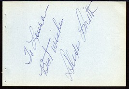 ALEXIS SMITH Autograph signed on album page - $29.69