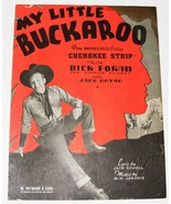 Vintage Sheet Music  © 1937  ~  MY LITTLE BUCKAROO - €7,05 EUR