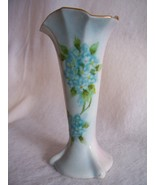 Vintage Hand Painted Forget Me Nots Porcelain B... - $36.00