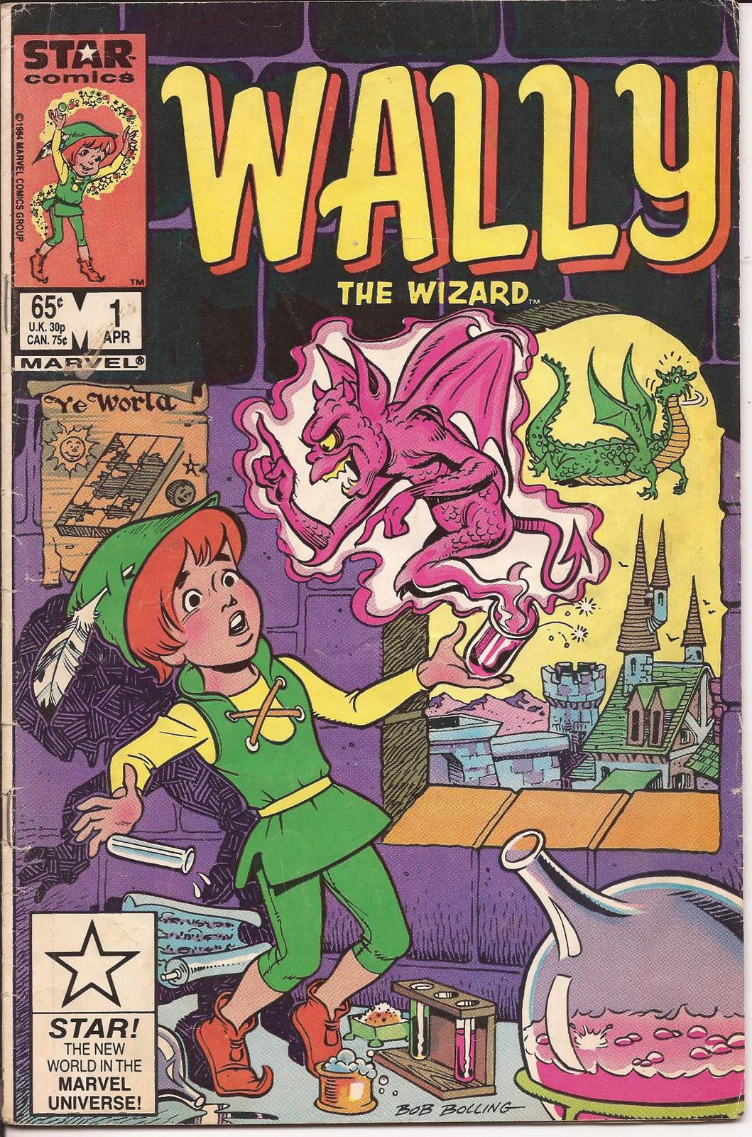 Marvel Wally The Wizard #1 A Plague Of Locust  Monsters Action Adventure