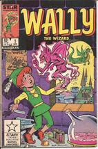 Marvel Wally The Wizard #1 A Plague Of Locust  Monsters Action Adventure - $1.25