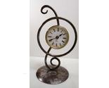 Desk top free standing metal clock 01 thumb155 crop