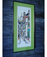 Limited Edition Lithograph by Famous Artist Tom Wood AKA Jaquest - $95.00
