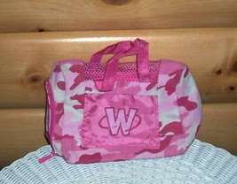 Wenkinz Pink & White Camouflage Design Cloth Carry Tote w/ Peek-Thru Window - $3.99