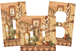 PERSONALIZED TUSCANY FLAVORS IN THE KITCHEN LIGHT SWITCH PLATE COVER - $9.25+
