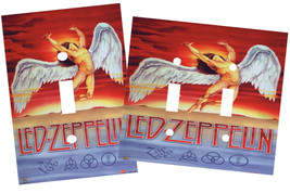 LED ZEPPELIN LIGHT SWITCH PLATE COVER - £5.46 GBP+
