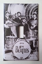 BEATLES CLASSIC BLACK & WHITE LIGHT SWITCH PLATE COVER - $6.25