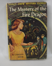 Nancy Drew The Mystery of the Fire Dragon 1961 Carolyn Keene Hardback Book - $6.50