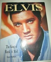 ELVIS PRESLEY The King of Rock N Roll Book History Boy - Elvis Lives Theory - $14.92