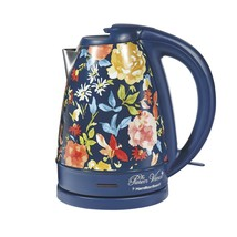 The Pioneer Woman 1.7 Liter Electric Kettle Blue/Fiona Floral | Model# 4... - $43.55