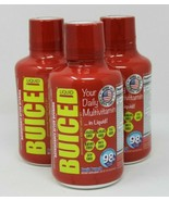 Buiced Liquid Multivitamin Fruit Punch Gluten Free GMO Free Allergen Free - $72.67