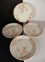 Royal Doulton Regents Park FRESH FLOWERS Salad Plate (s) LOT OF 4 LS1054 - $21.73