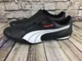 Sneakers Black Leather 185999 Puma Move White Men's New Shoes Redon Red 02 qwTAx8Z