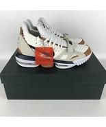 Nike LeBron James XVI Shoes 10.5 White/Midnight Navy-Ginger CD7089 100 - $212.73